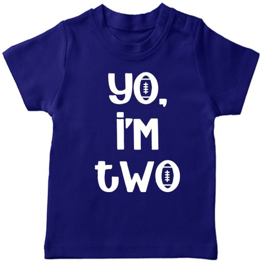 Yo-I-am-Two-Birthday-Celebration-T-Shirt-Blue