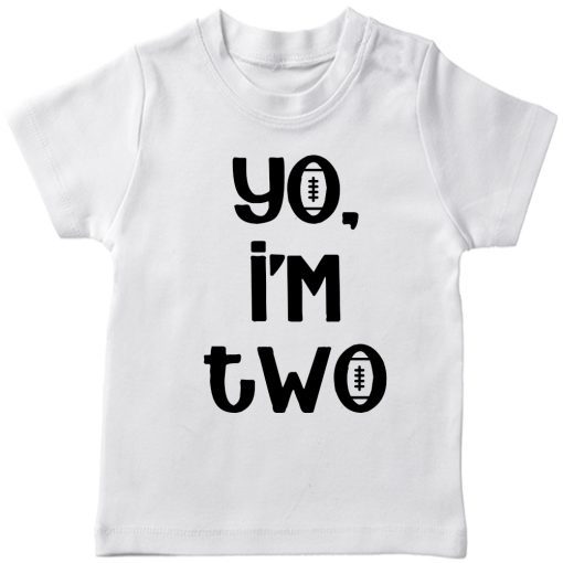 Yo-I-am-Two-Birthday-Celebration-T-Shirt-White