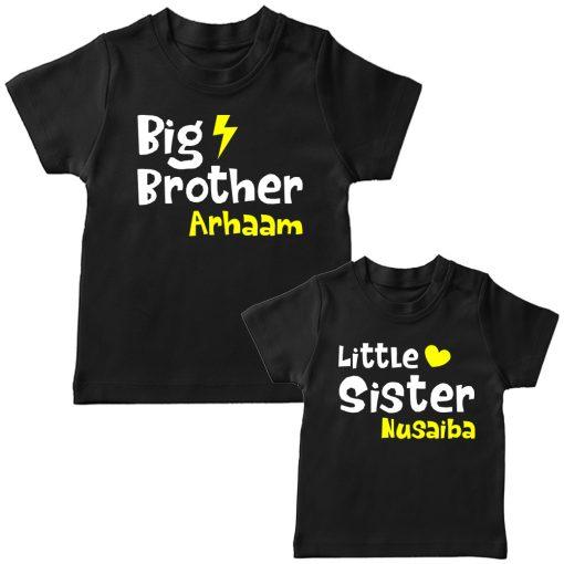 Big-&-Little-Brother-Sister-Combo-T-Shirt-Black