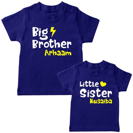 Big-&-Little-Brother-Sister-Combo-T-Shirt-Blue