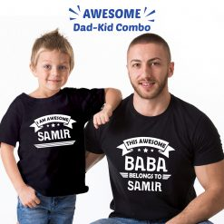 Awesome-BABA-Family-Combo-T-Shirt