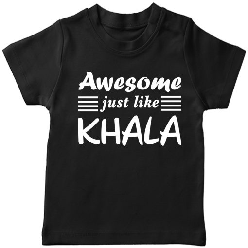 Awesome just like Khalamony T-shirt Black