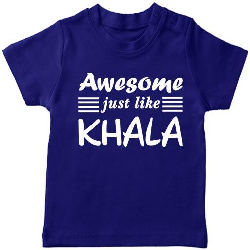 Awesome just like Khalamony T-shirt Blue