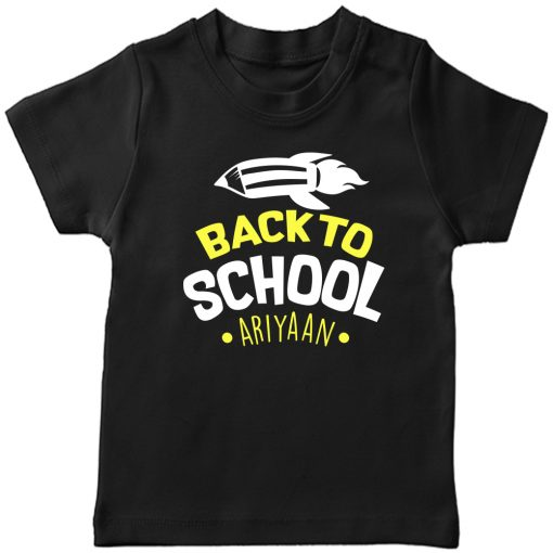 Back-to-School-with-Custom-Name-T-Shirt-Black