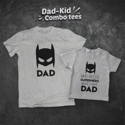 Batman-Superhero-Dad-Son-Combo-T-Shirt-Content