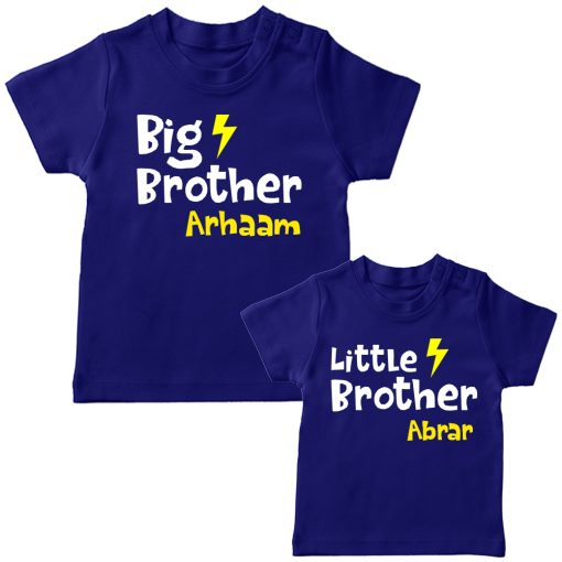Big-&-Little-Brother-Combo-T-Shirt-Blue