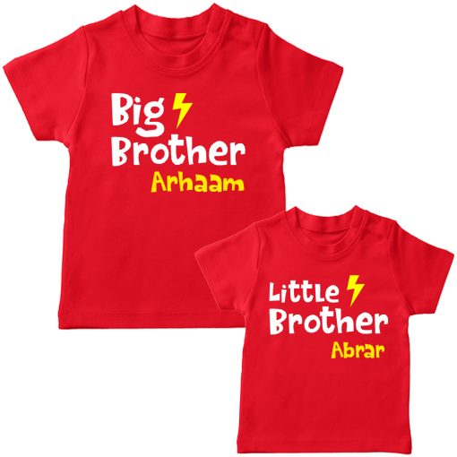Big-&-Little-Brother-Combo-T-Shirt-Red