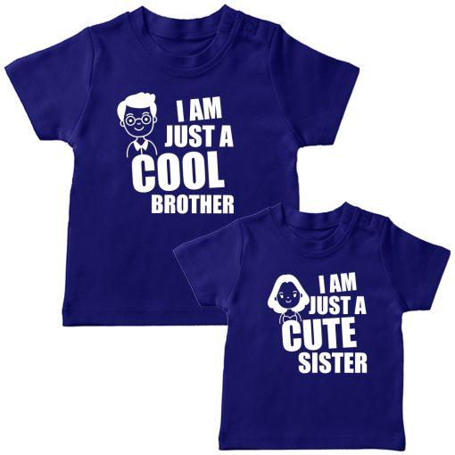 Cool-Bro-&-Cute-Sister-Combo-Siblings-T-Shirt-Blue