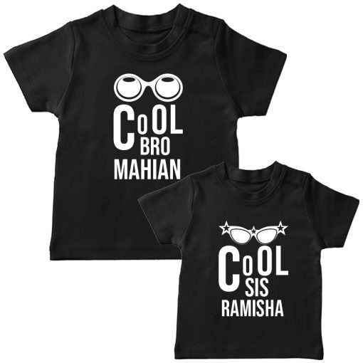 Cool-Brother-Sister-Combo-T-Shirt-Black