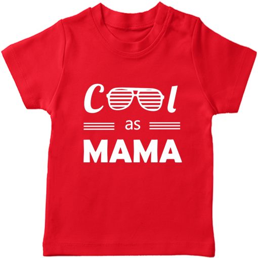 Cool-as-Mama-T-Shirt-Red