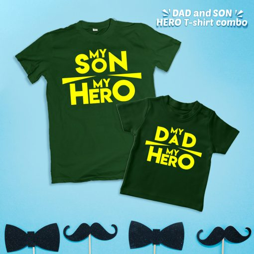 Father-Son-Hero-unique-Combo-t-shirt-for-2-person