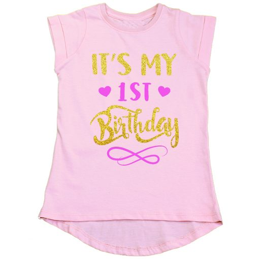 First-Birthday-Beautiful-Designed-Girls-T-Shirt-Pink