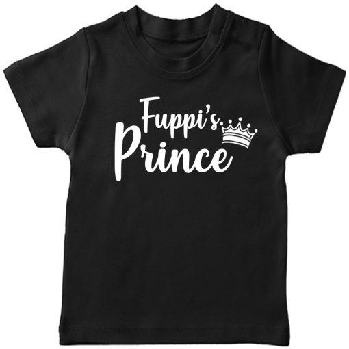 Fuppis-Prince-T-Shirt-Black