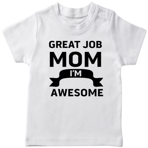 Great-Job-MOM-T-Shirt-White