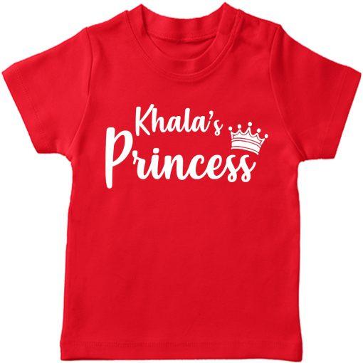 Khalas-Princess-T-Shirt-Red