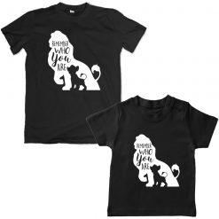 Lion-King-Dad-Son-Combo-T-Shirt-Black