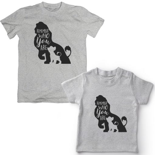 Lion-King-Dad-Son-Combo-T-Shirt-Grey