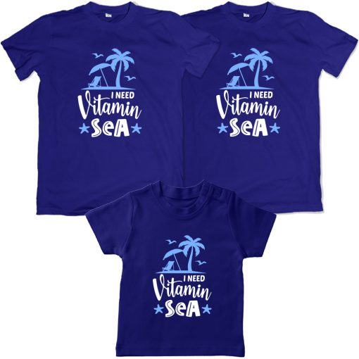 Vitamin-Sea-Beach-Combo-T-Shirt-Blue