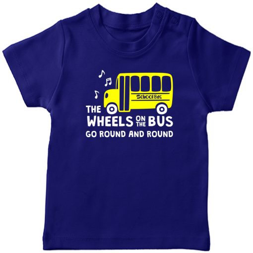 Wheels-On-The-Bus-T-Shirt-Blue