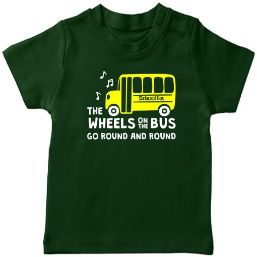 Wheels-On-The-Bus-T-Shirt-Green