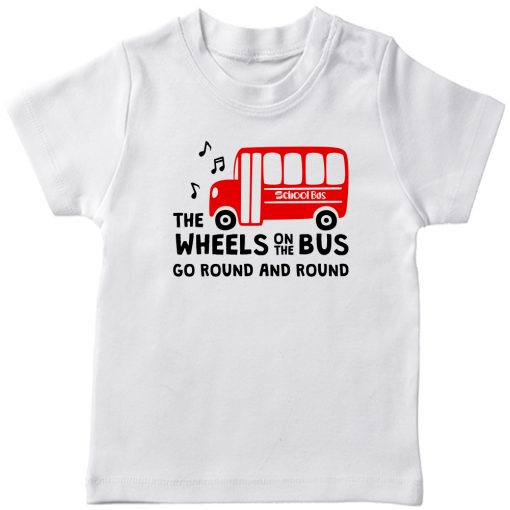 Wheels-On-The-Bus-T-Shirt-White