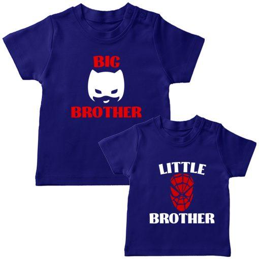 Batman-&-Spiderman-Siblings-Combo-Tee-Blue