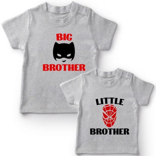 Batman-&-Spiderman-Siblings-Combo-Tee-Grey