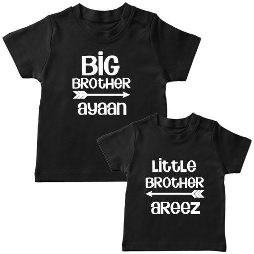 Big-&-Little-Brother-Siblings-Combo-Tee-Black
