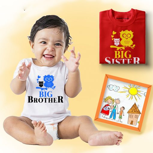 Birdie-Big-&-Little-Siblings-Combo-T-Shirt
