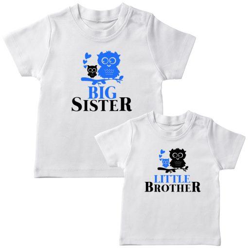 Birdie-Big-&-Little-Siblings-Combo-T-Shirt-White