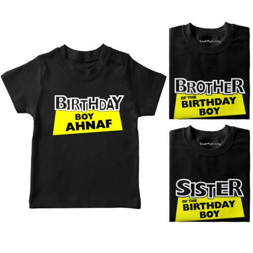 Birthday-Boy-And-His-Siblings-Combo-T-Shirt-Black