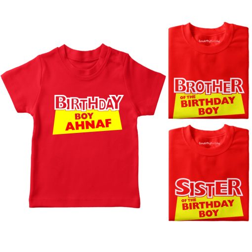 Birthday-Boy-And-His-Siblings-Combo-T-Shirt-Red