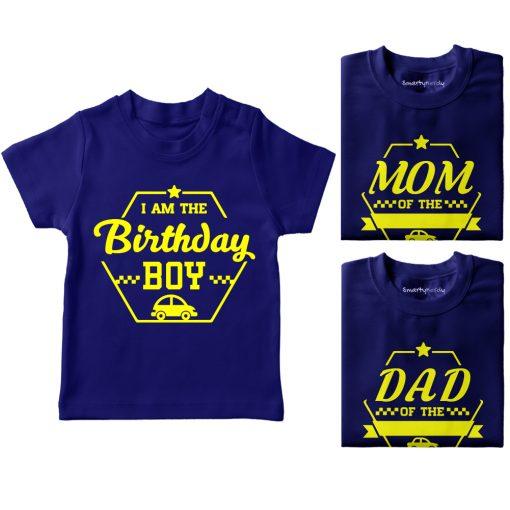 Birthday-Celebration-Family-Combo-T-Shirt-Blue