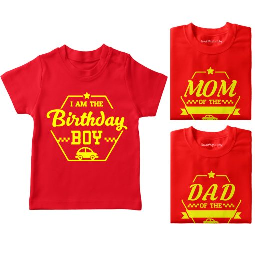 Birthday-Celebration-Family-Combo-T-Shirt-Red