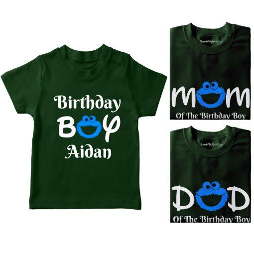Cookie-Monster-Bithday-Combo-T-Shirt-Green