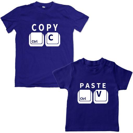 Copy-Paste-Unique-Combo-Tee-Blue