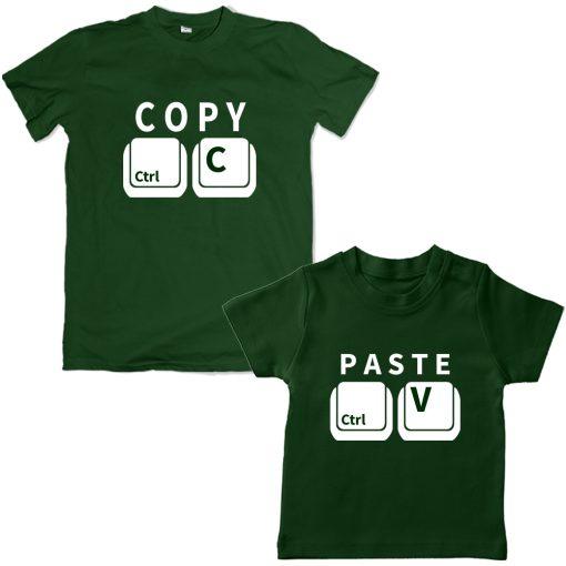 Copy-Paste-Unique-Combo-Tee-Green