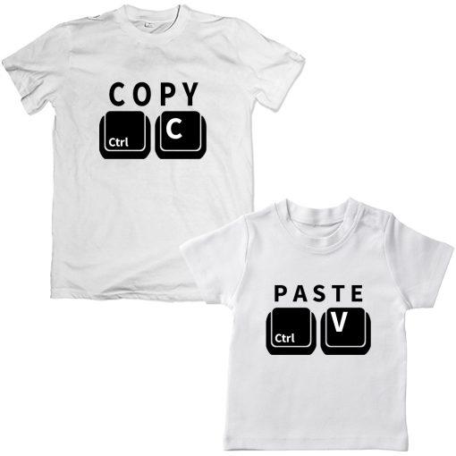 Copy-Paste-Unique-Combo-Tee-White