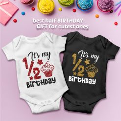Cupcake-half-birthday-Celebration-Baby-Romper-Content