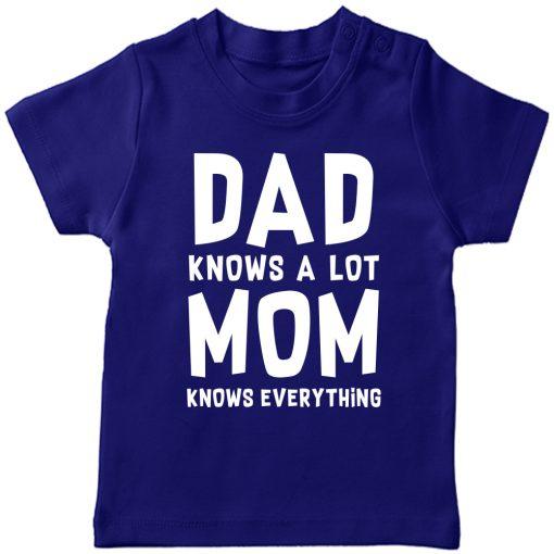 Dad-Mom-Favourite-T-Shirt-Blue