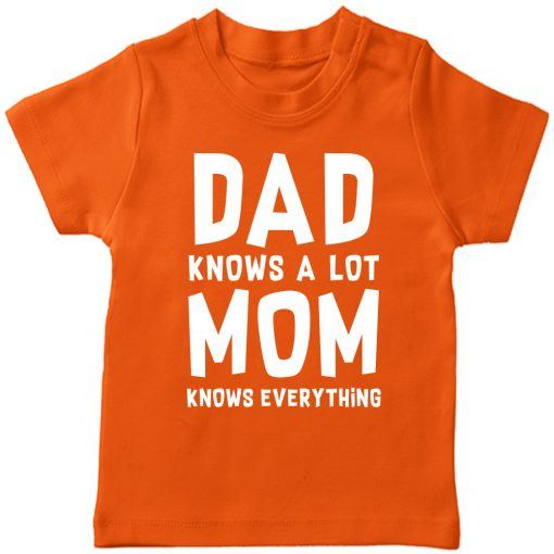 Dad-Mom-Favourite-T-Shirt-Orange