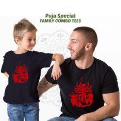 Durga-Family-Combo-T-Shirt-Content