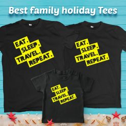 Eat-Sleep-Repeat-&-Travel-Family-Combo-T-Shirt-Content
