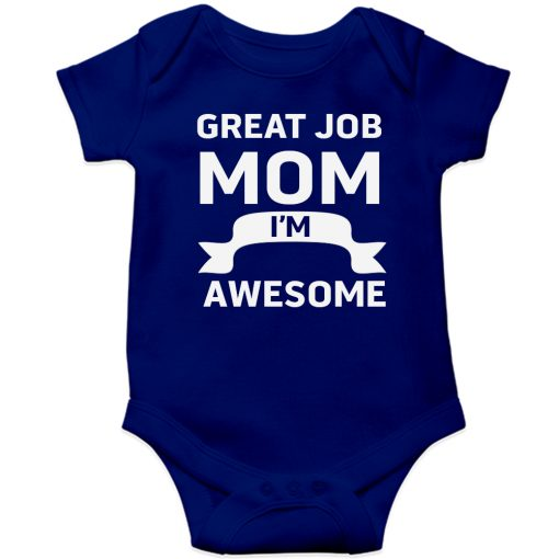 Great-Job-MOM-Baby-Romper-Blue