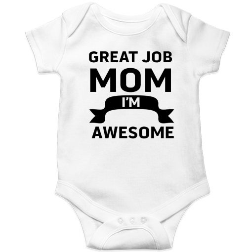 Great-Job-MOM-Baby-Romper-White