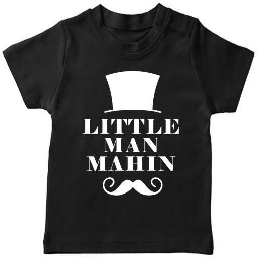 Little-Man-Customized-Name-T-Shirt-Black