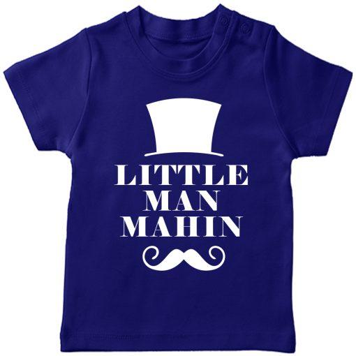 Little-Man-Customized-Name-T-Shirt-Blue