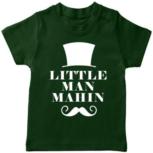 Little-Man-Customized-Name-T-Shirt-Green