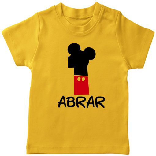 Mickey-Bday-Tee-Yellow-First