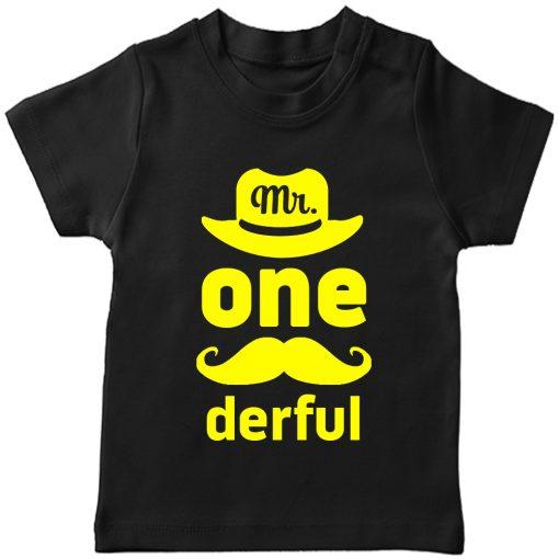 Mr.-Onederful-1st-Year-Birthday-Celebration-T-Shirt-Black